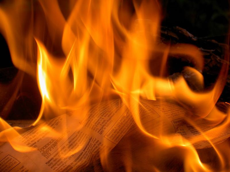 статус про пламя