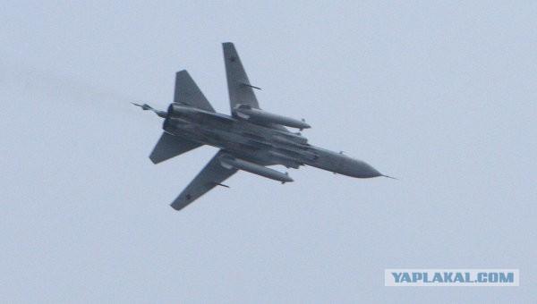Ополчение Горловки: Сбит украинский Су-24