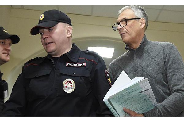 Состояние губернатора Александра Хорошавина нациализированно