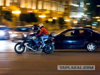 Езда байкеров между рядами может попасть под запрет