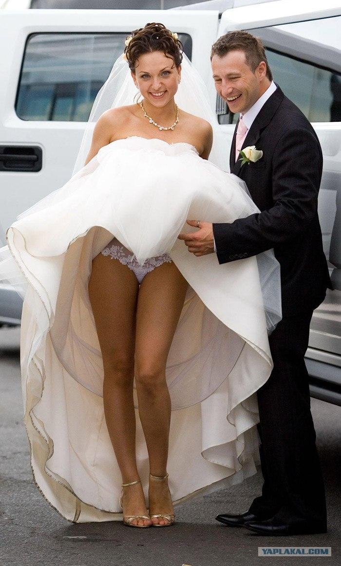 Под юбкой невесты 5 фотография