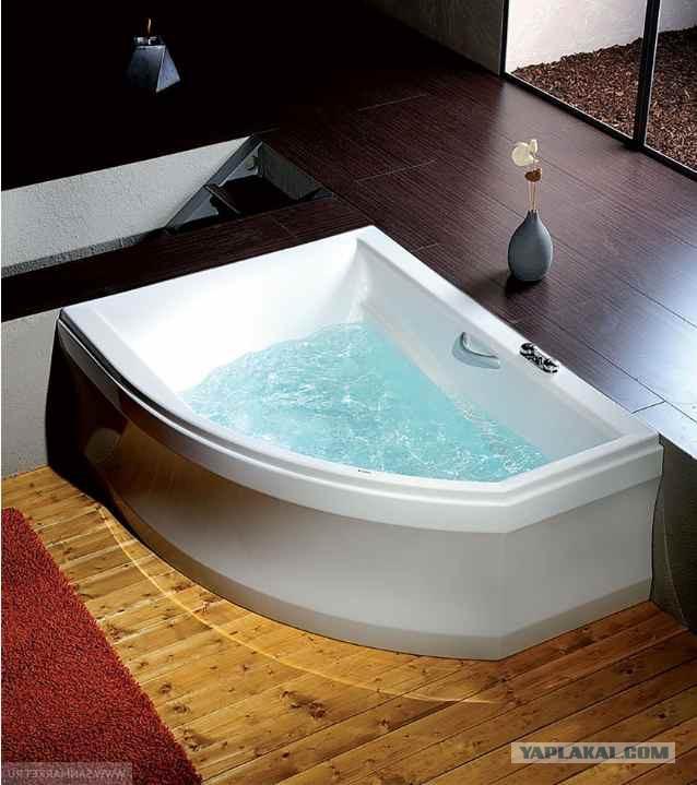 Немного о выборе акриловых ванн