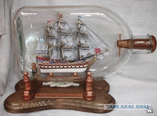 Корабль в банке