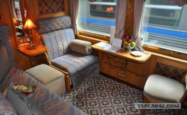Самые удобные и роскошные поезда мира