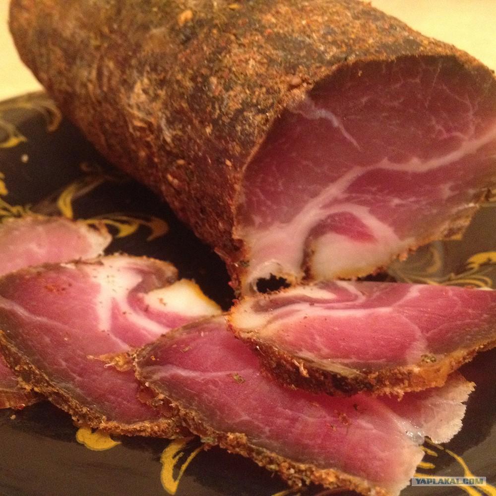 Завялить свинину в домашних условиях 867