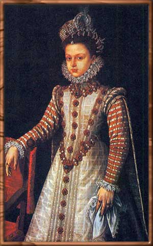 Костюм Испании эпохи Возрождения (15-16 века). женский костюм.