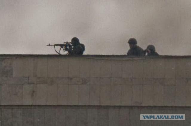 Работа снайперов в Украине по методичке