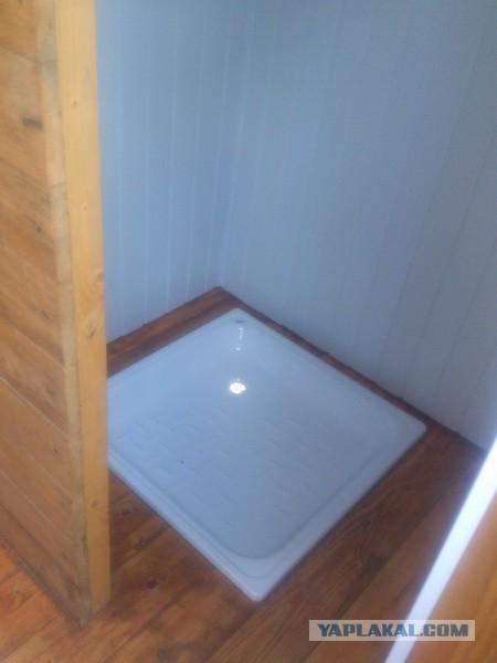 Поддон в душ на даче своими руками фото 30