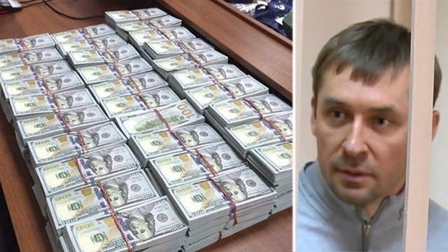 Похищены арестованные деньги полковника Захарченко
