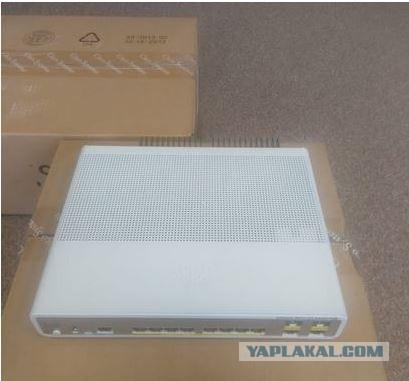 Продаю или меняю коммутатор Cisco WS-C3560CG-8PC-S