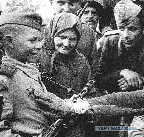 Дети во Второй Мировой Войне