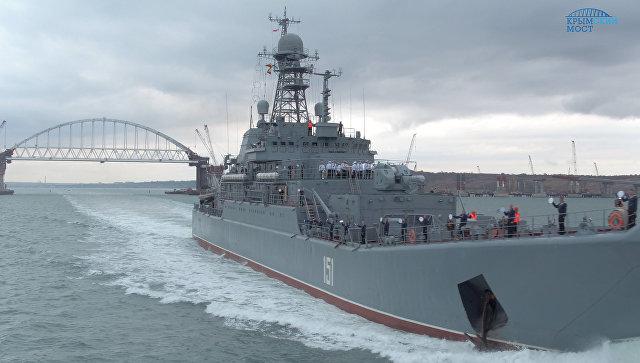 Россия может усложнить проход украинских судов через Керченский пролив