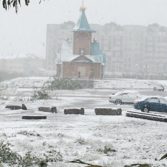Из-за выпавшего снега в Воркуте перенесли праздник