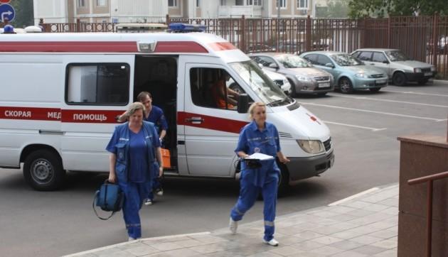 В Новокузнецке напали на бригаду Скорой помощи. Сильно избили медсестру.