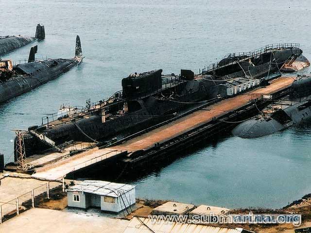 подводные лодки утилизируют