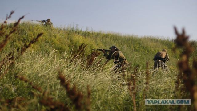 В «котел» под Луганском попали