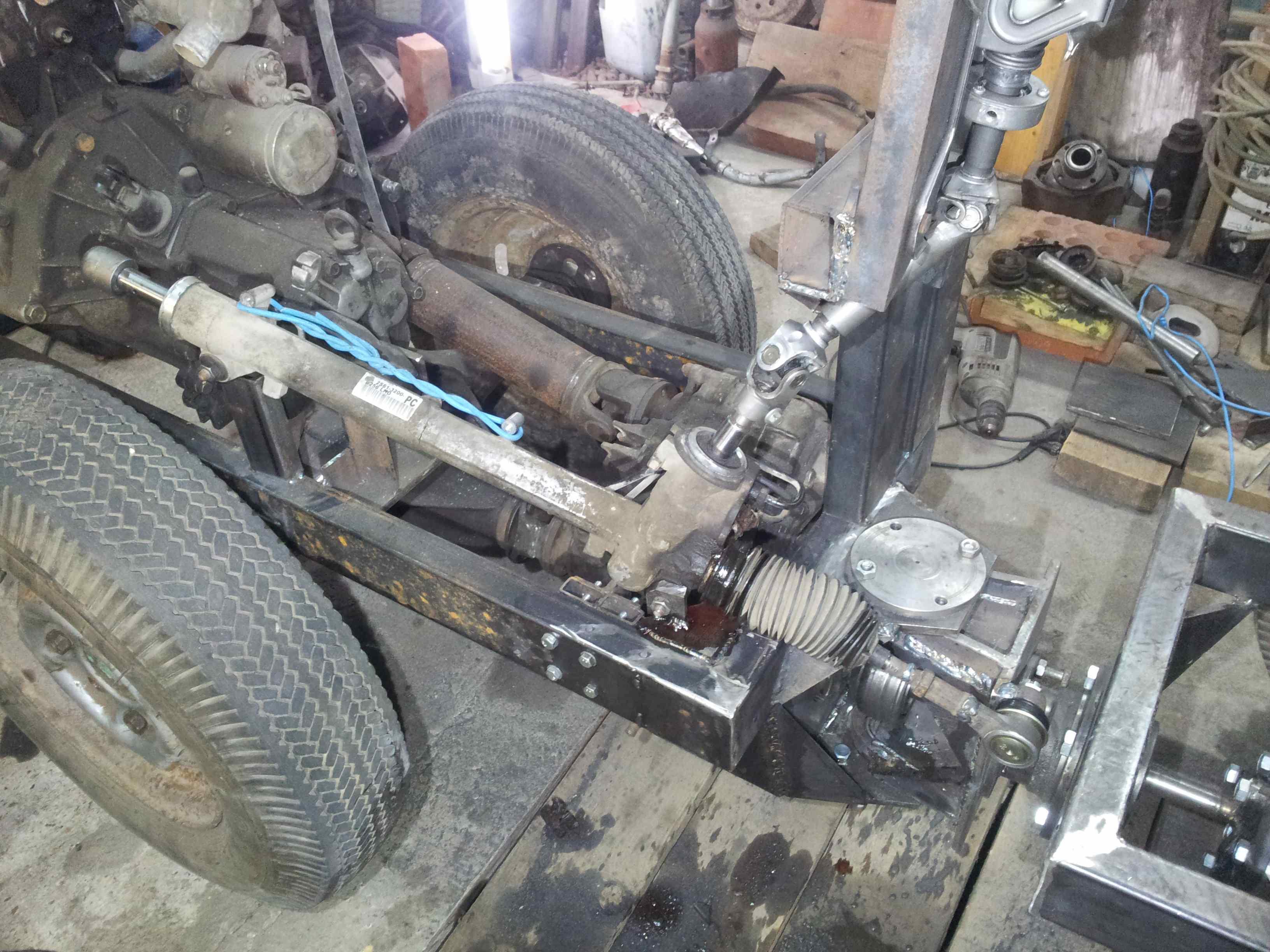 Трактора своими руками с двигателем ока