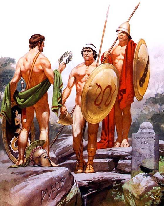 Секс культура в древней спарте