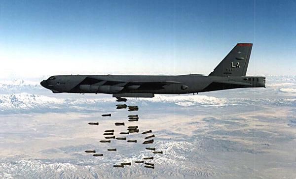 Бомбардировщик ВВС США Boeing В-52 разбился возле острова Гуам