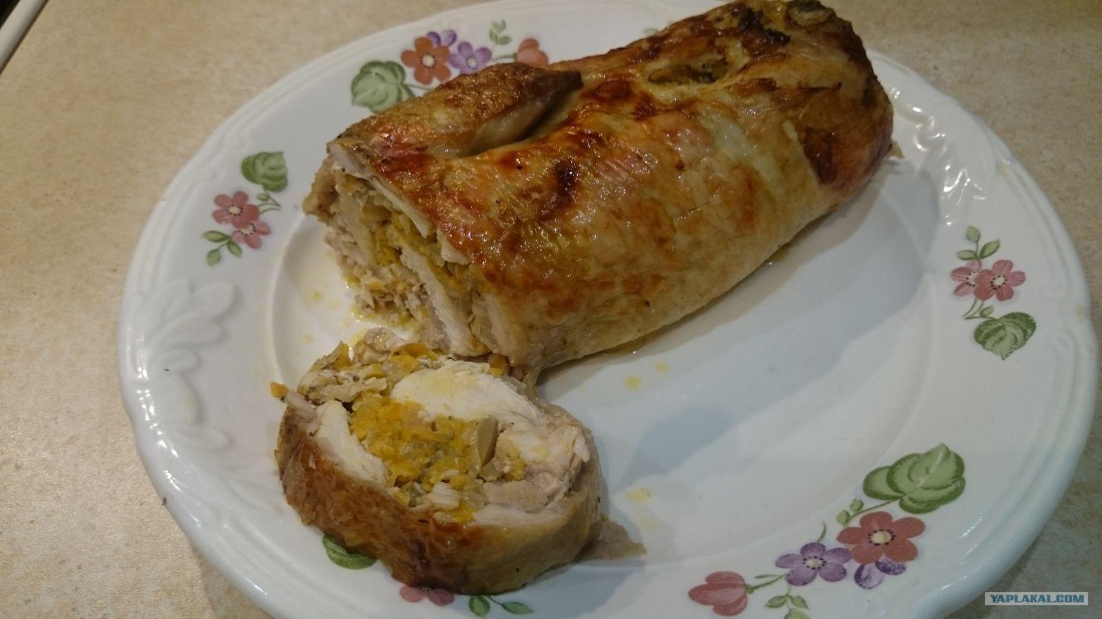 Куриные рулетики рецепт с пошаговым фото