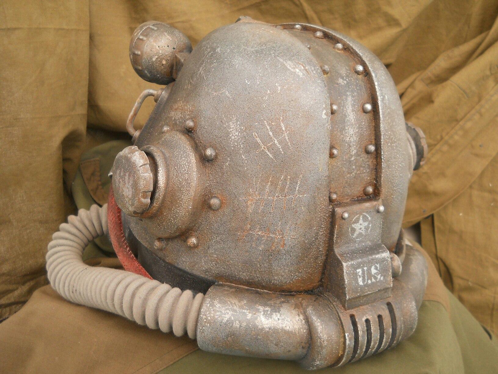 Шлем силовой брони
