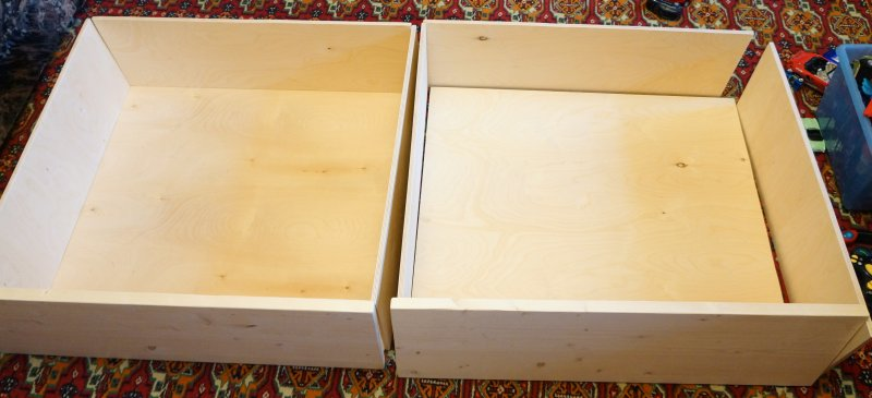 Как сделать ящик для стола своими руками