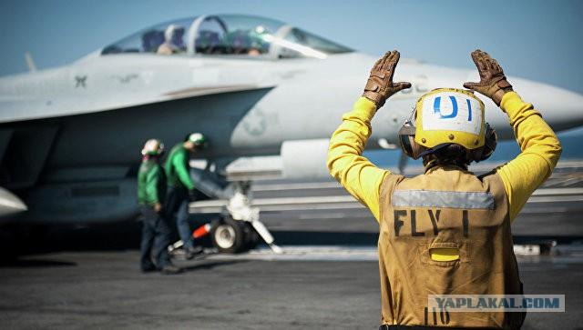 Коалиция во главе с США нанесла удар по сирийской армии у Дейр-эз-Зора