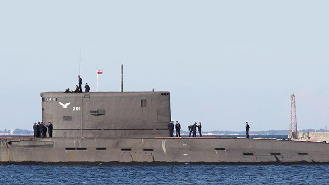 Российская и польская подлодки столкнулись в Балтийском море