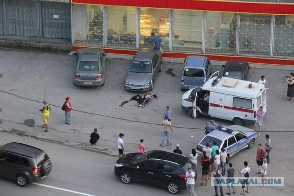Убийство средь бела дня