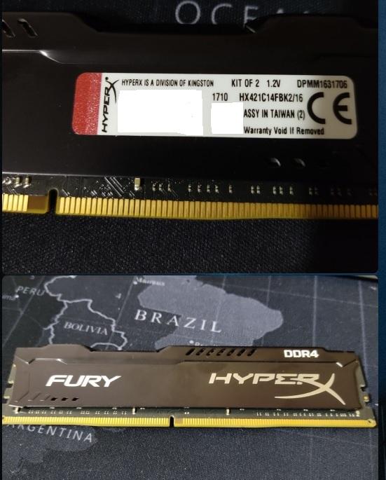 Куплю Оперативную память 16GB(8+8). HyperX HX421C14FBK2/16 2133МГц