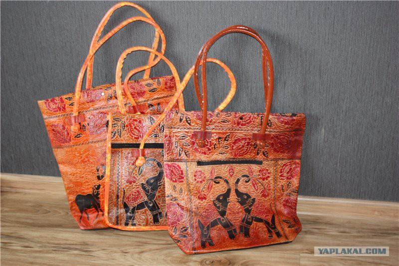 Кожаные сумки из Индии - indibagsru