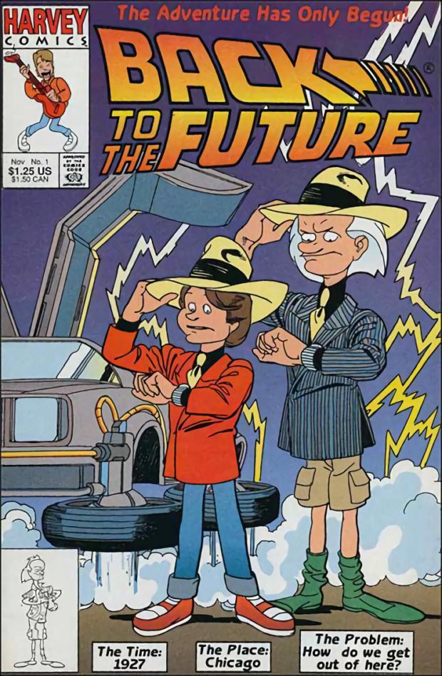 На машине сквозь время: история успеха «Назад в будущее»