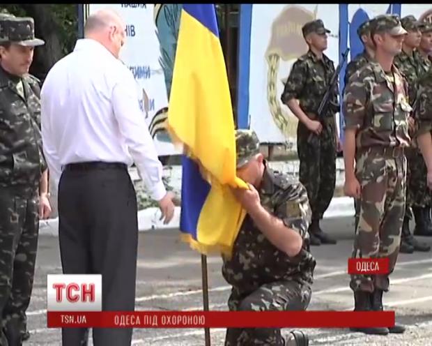 """Батальон """"Одесса"""" приступил к службе"""