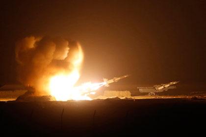 Над Сирией обстреляли российский самолёт