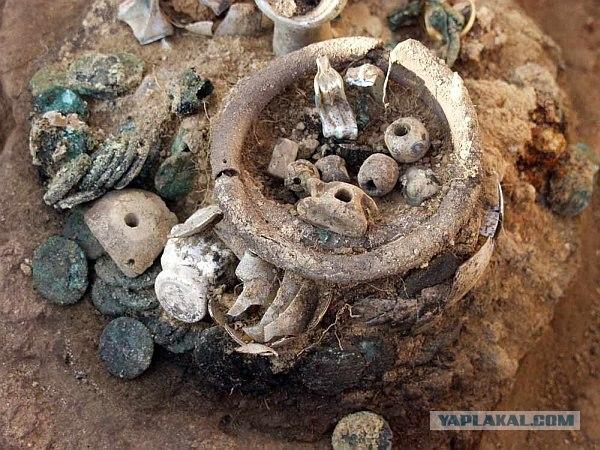 В Крыму снова найден клад.