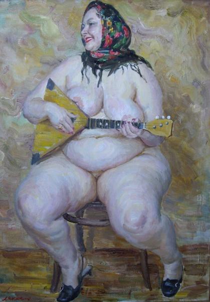Viktor Lyapkalo, akt kobiecy i portret
