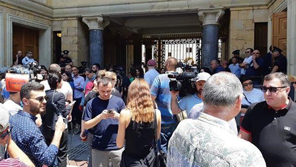ЧП в Грузии с российскими депутатами
