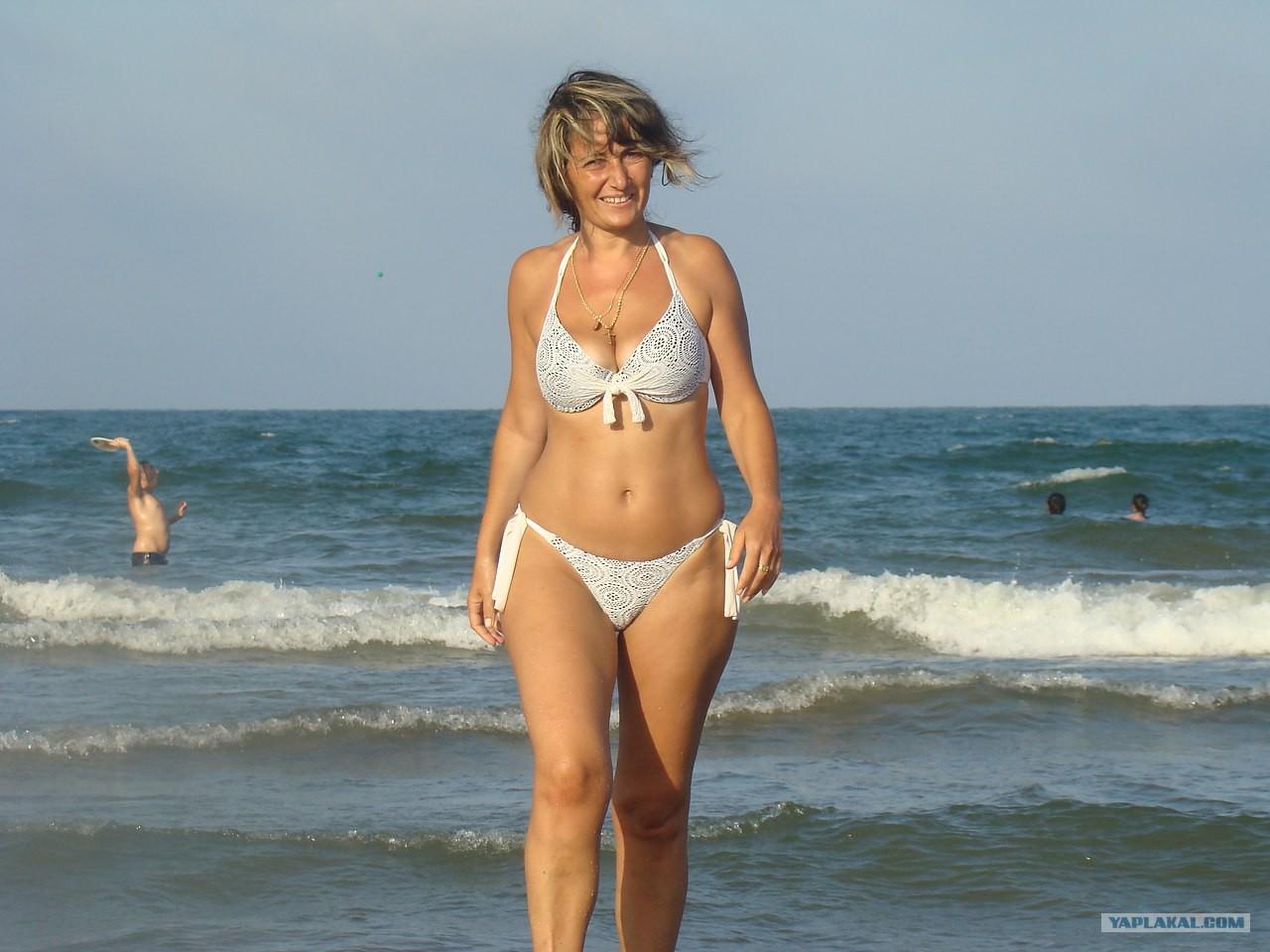 Фото женщин за 40 на пляжах 11 фотография