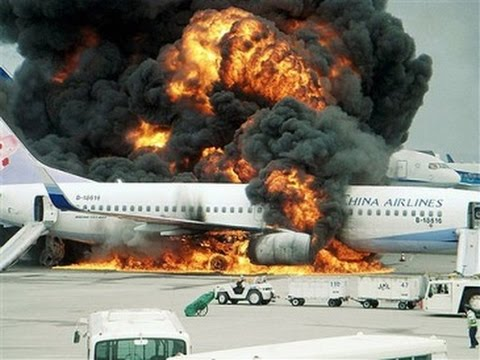 Двигатель гигантского самолёта Ан-225 горит в аэропорту Лейпцига