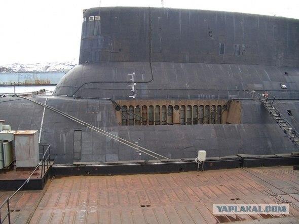 Тяжелый ракетный подводный крейсер 941