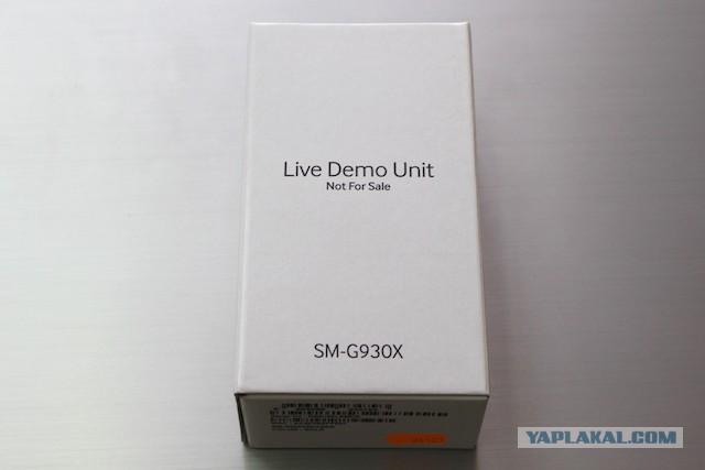 Продам демо версии Samsung S7 и Samsung S7 Edge