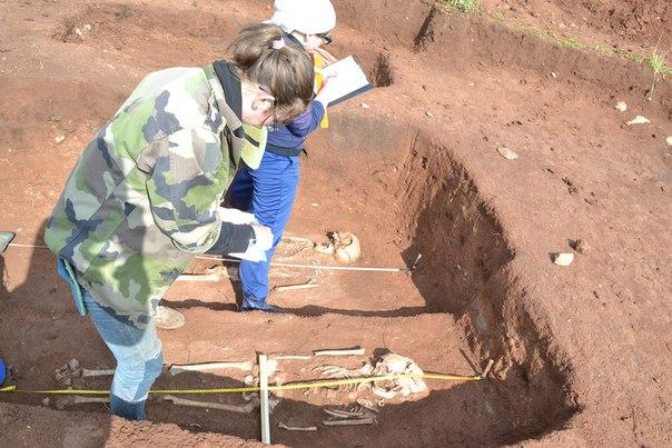 Мое хобби, археологические раскопки.