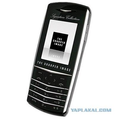 Эксклюзивный Alcatel 909tsi Platinum Sharper Image