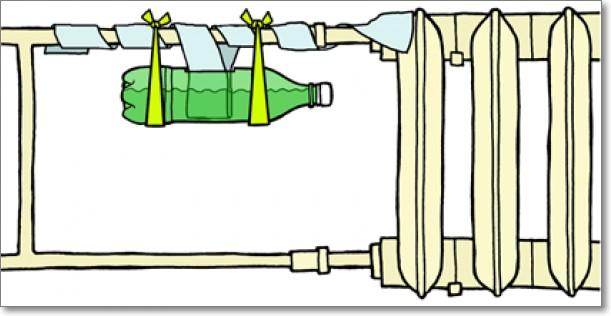 Как сделать увлажнитель воздуха из бутылки своими