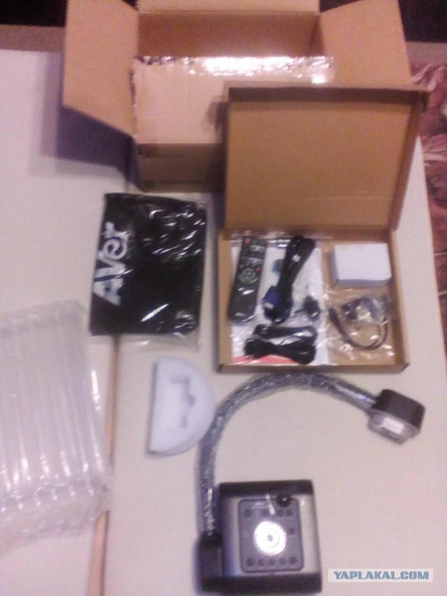 меняю документ-камеру  AVerVision F50HD