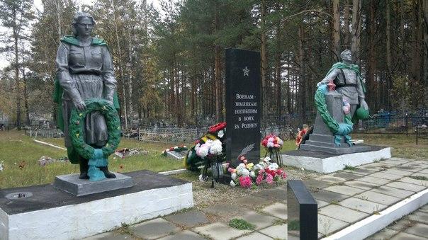Снесли памятник воинам накануне 9 мая