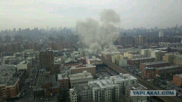 В Нью-Йорке прогремел взрыв.