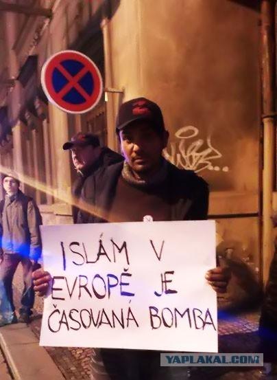 В Чехии прошли демонстрации против ислама