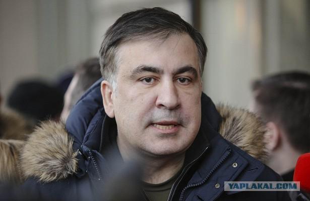 Саакашвили назвал Медведева нулем ирассказал оботношениях сПутиным