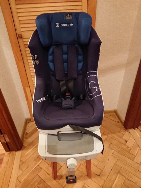 Детское автокресло Concord Absorber XT. Москва